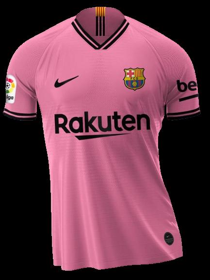 חולצת כדורגל  חוץ ברצלונה 2021