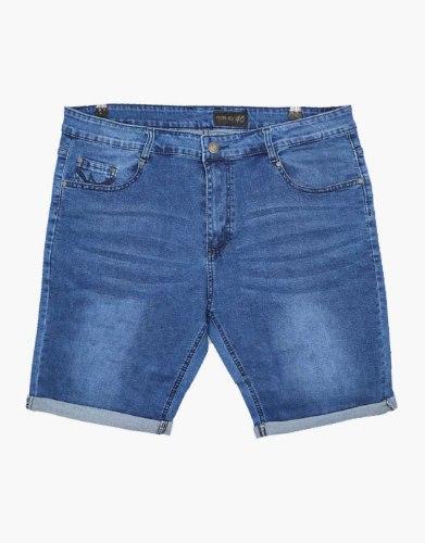 ג'ינס קצר כחול בהיר 40-46