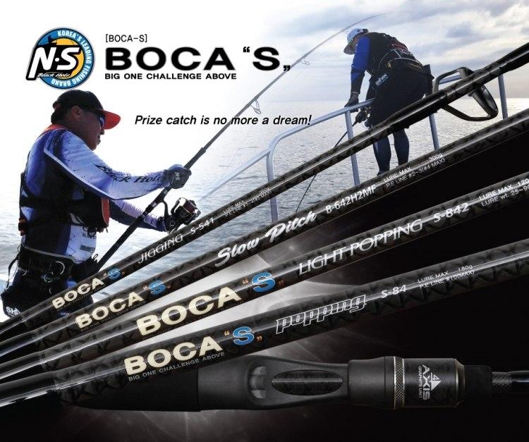 Boca S jigging