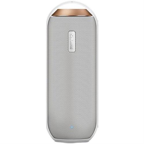 רמקול נייד Philips BT6000, קומפקטי ועמיד מאוד, כולל 2 רמקולים מובנים עם באסים עוצמתיים,