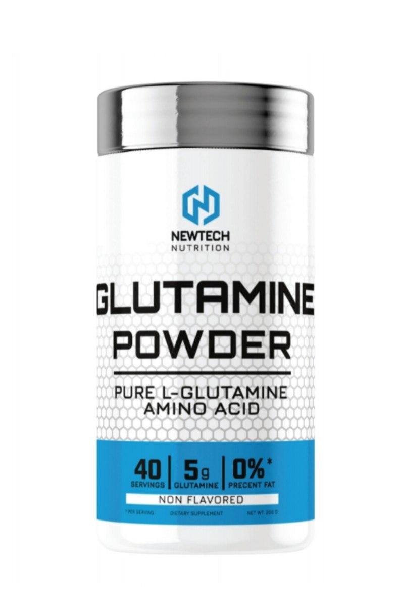 100% אבקת גלוטמין טהור ניוטק (200 גרם)