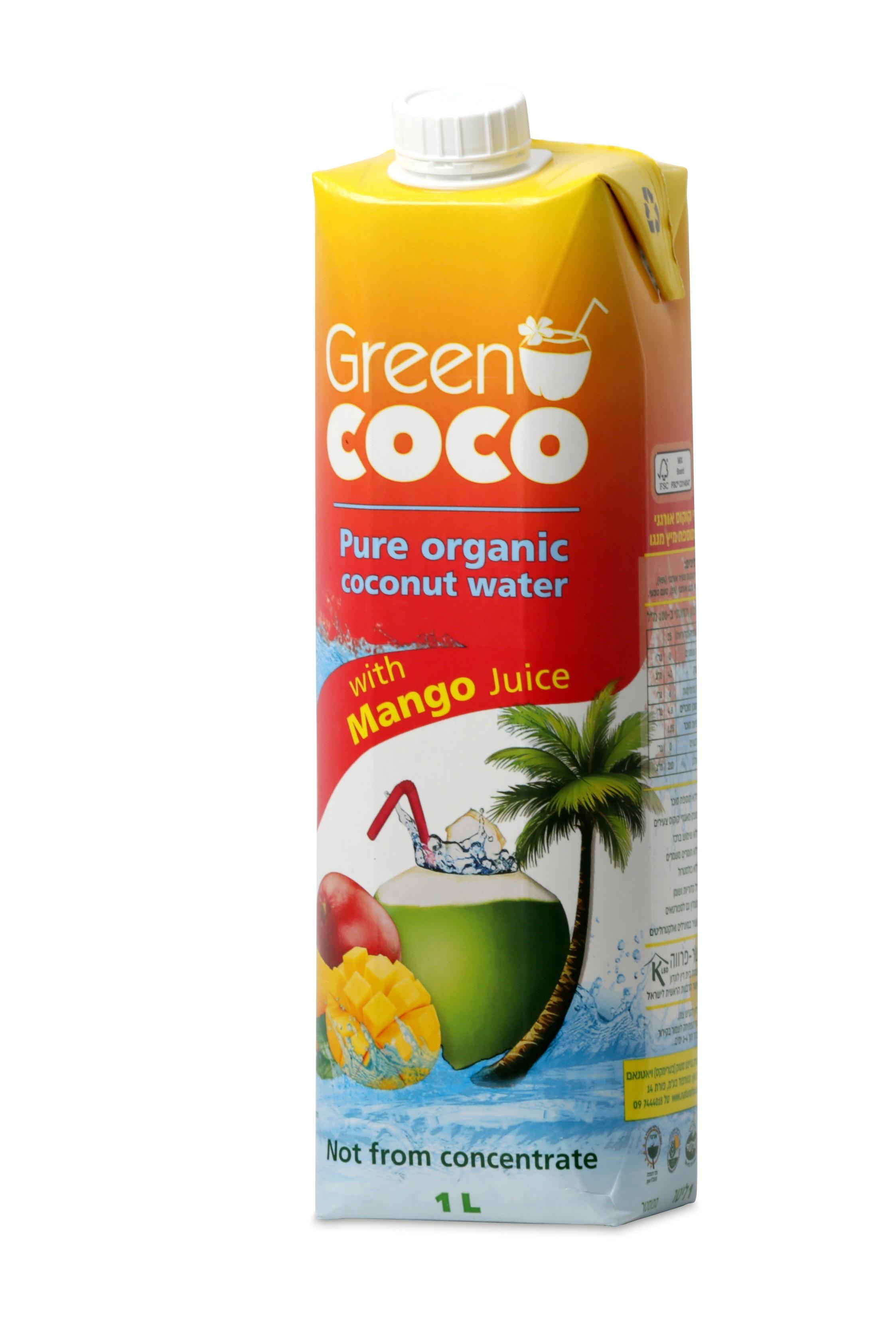 משקה קוקוס מנגו