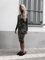 שמלת לורן צבאי