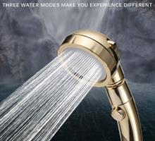 ברז דוש חדשני לחיסכון במים והגברת הזרם