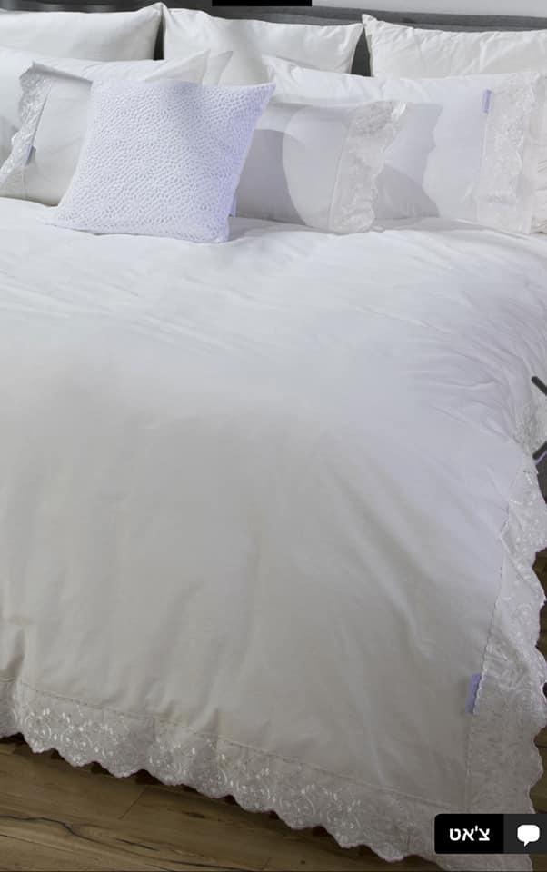 סט מלא זוגי 100% כותנה פרקל של ורדינון דגם אמדורה