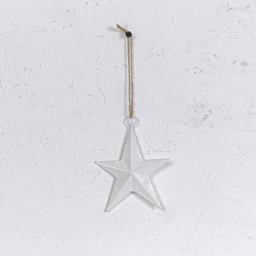 כוכב ברזל - לבן נקי
