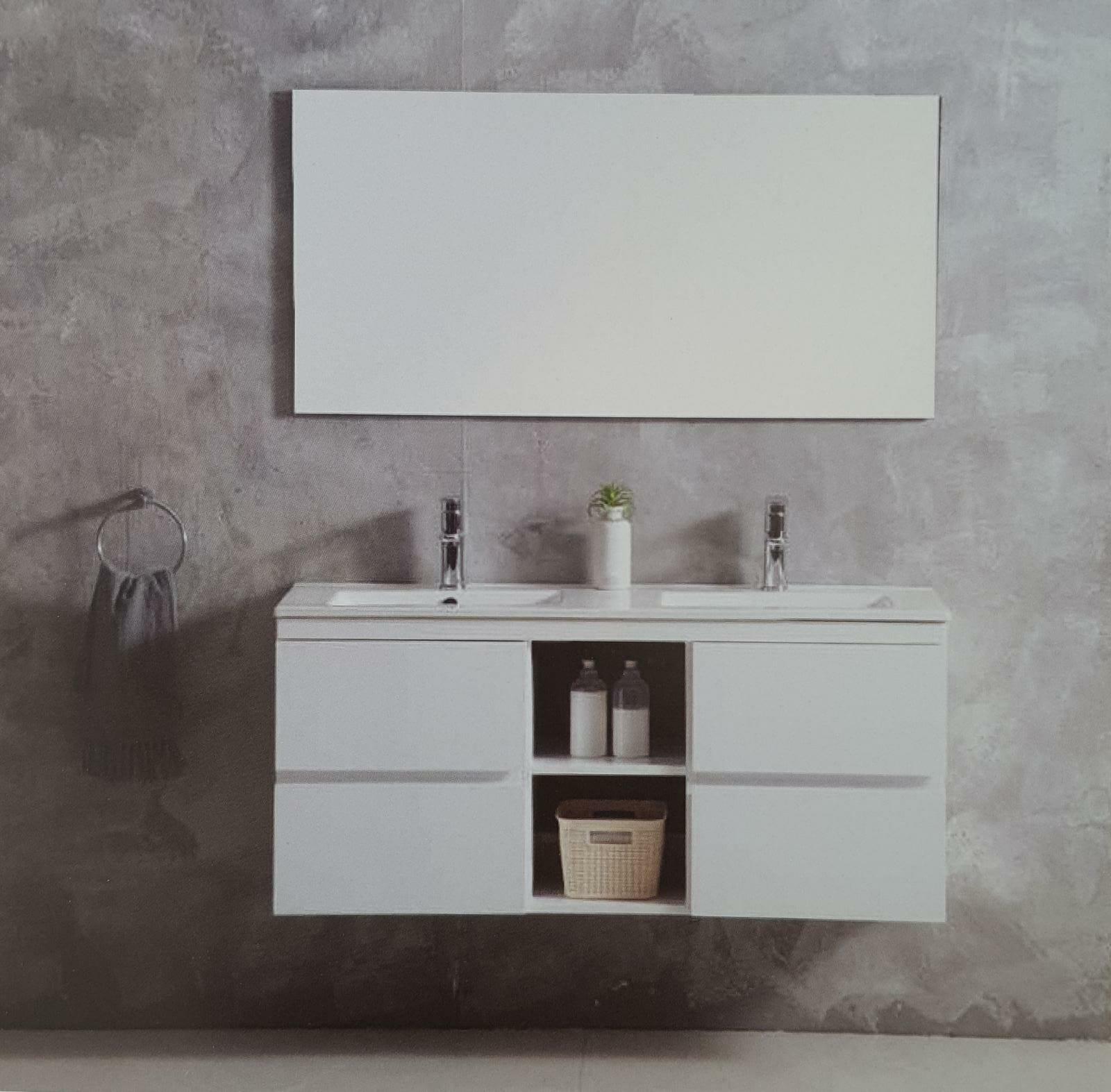 ארון אמבטיה תלוי בעיצוב נקי דגם קלי KEELY