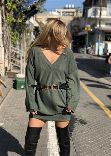 שמלת סטייסי ירוק