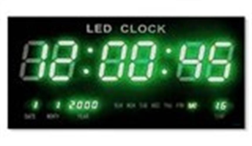 שעון קיר חשמלי דיגיטלי גולף GOLF 4622G