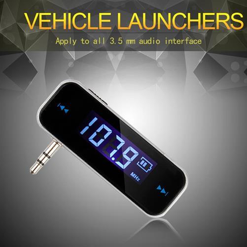 משדר FM אלחוטי 3.5 ממ לרכב עבור iPod  iPad iPhone ועוד.....