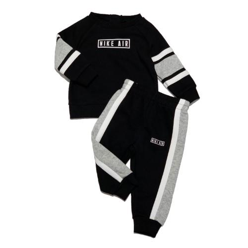 NIKE COLOR BLOCK SET BLACK BABY