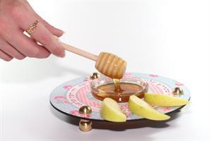 כלי לדבש ותפוחים וינטג' Dvash_01
