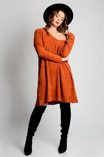 שמלת אוברסייז ליהי חמרה