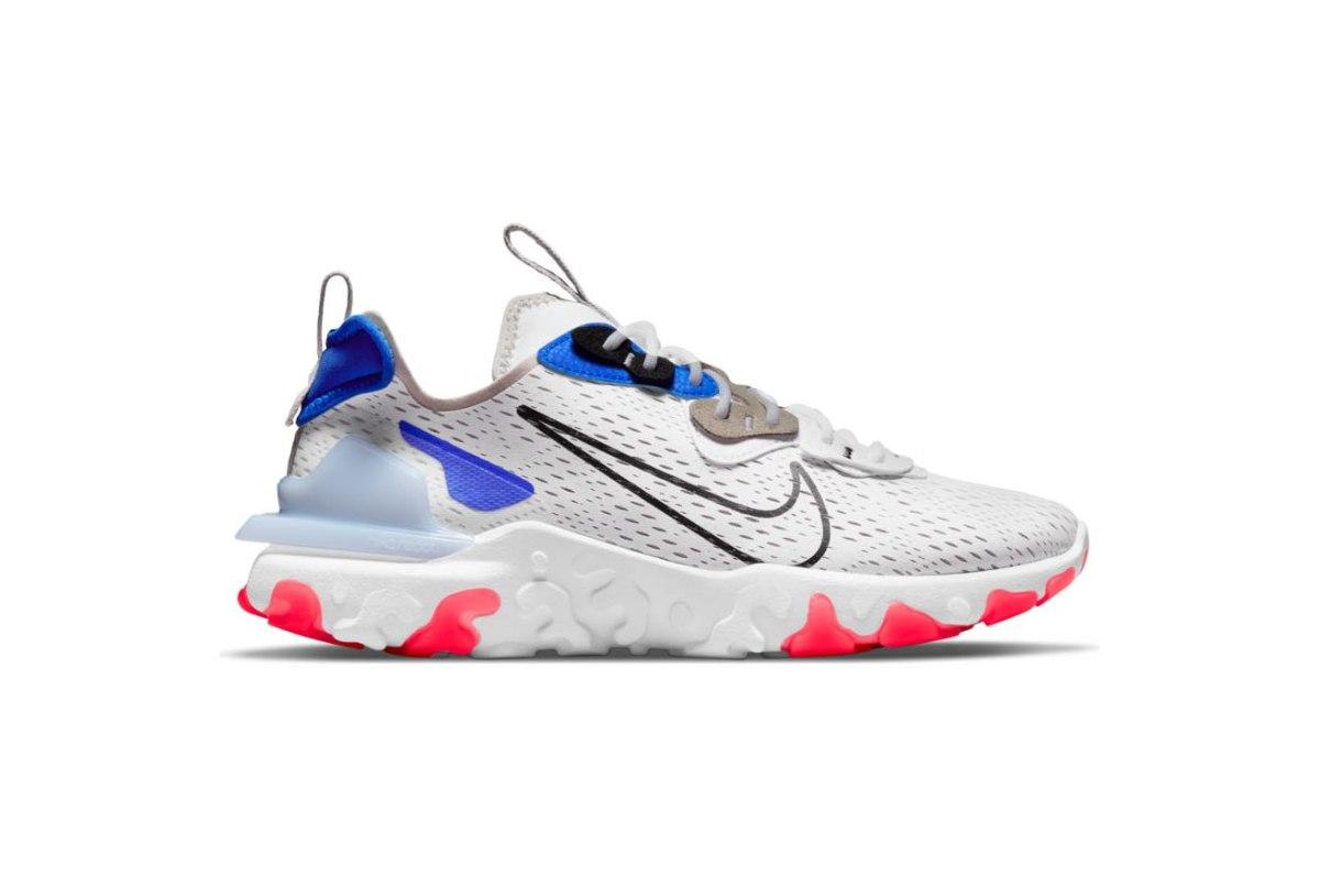 נעלי גברים NIKE REACT VISION צבע לבן/כחול