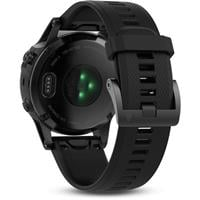 שעון דופק Garmin Fenix 5 Sapphire Black with black band
