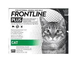 פרונטליין פלוס לחתול אמפולות