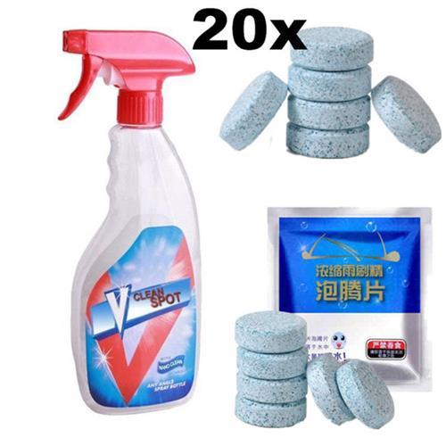 טבליות הפלא V-Clean לניקוי יסודי בקלות  (20 יח)