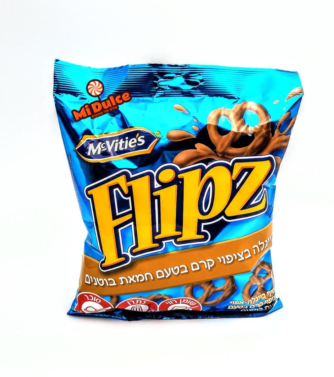 Flipz peanut butter cream