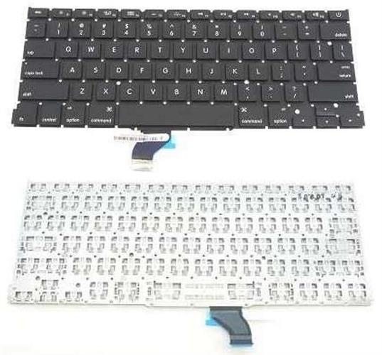 החלפת מקלדת מקורית למחשב נייד אפל מקבוק פרו APPLE Macbook Pro A1502 US Keyboard