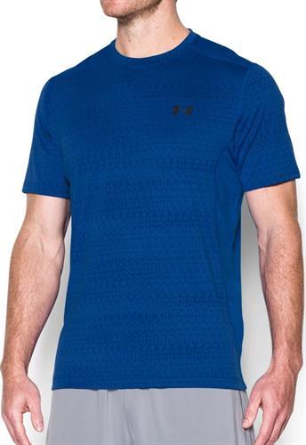 חולצת אימון אנדר ארמור Under Armour Raid Jacquard T-Shirt 1294215-789