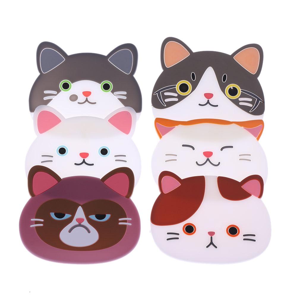 תחתיות לכוסות | פנים של חתולים