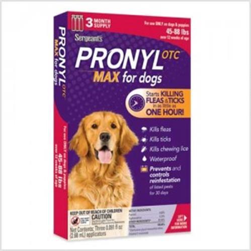 """פרוניל לכלבים במשקל 20 - 40 ק""""ג"""
