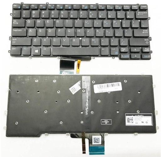 החלפת מקלדת במחשב נייד דל DELL Latitude E7370 Keyboard