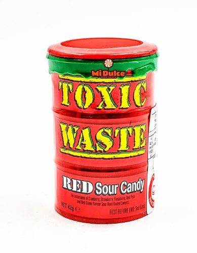 Toxic Waste Red,אקסטרה חמוץ