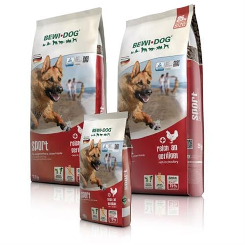 """בווידוג ספורט 25 ק""""ג מזון יבש לכלבים"""