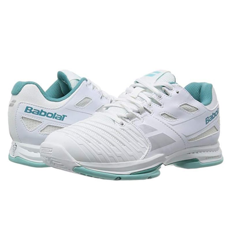 נעל טניס בבולט נשים Babolat SFX Lady White Blue