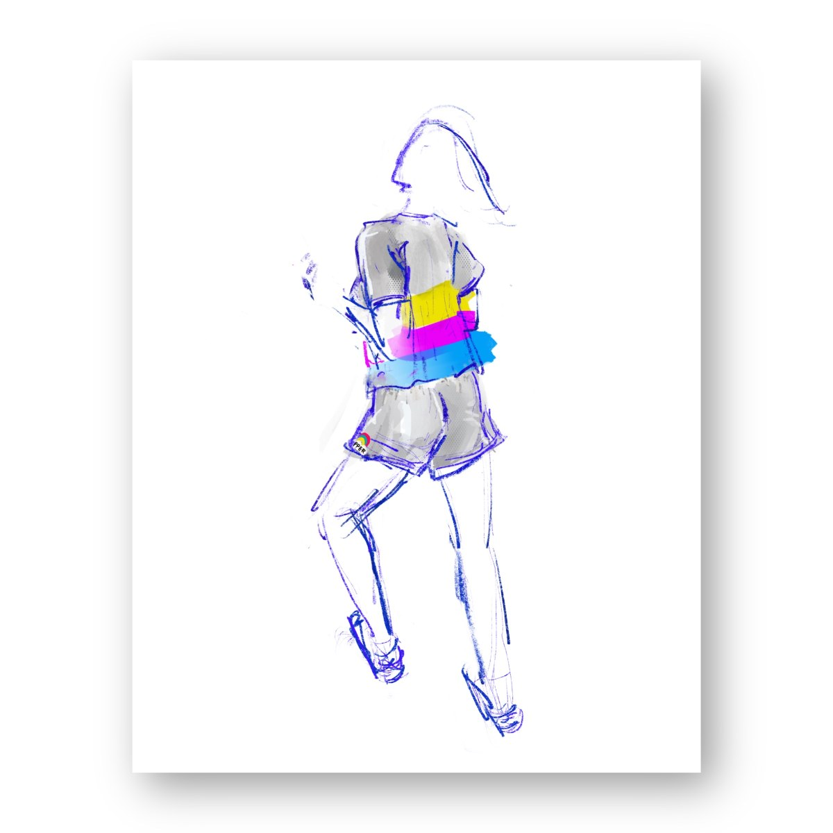 איור אופנה #9