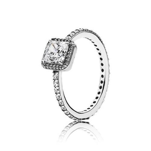 טבעת כסף פנדורה 190947CZ