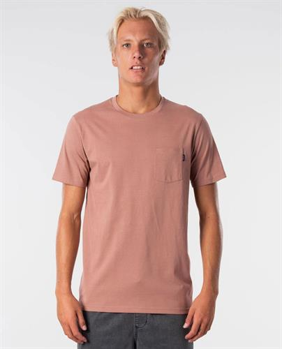 RIP CURL PLAIN POCKET TEE
