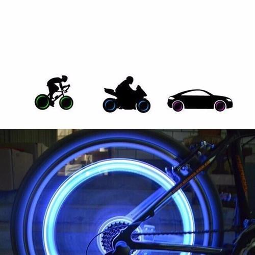 4 יחידות נורות נאון לגלגל