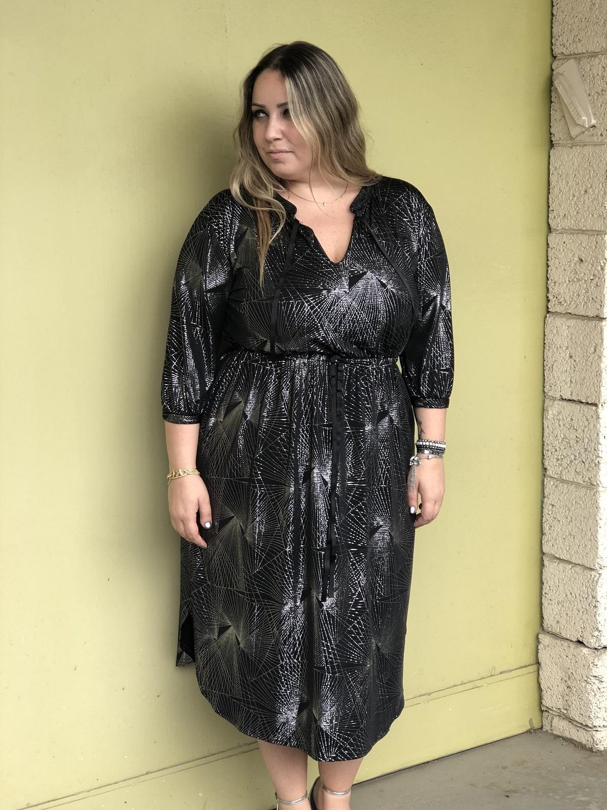 שמלת קלואי כסף