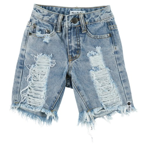 ברמודת ג׳ינס MISS KIDS - מידות 2-18
