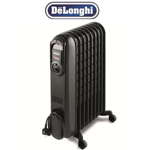 DeLonghi רדיאטור 9 צלעות שחור סדרת VENTO  דגם: V550920-B