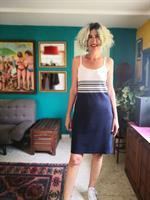 שמלה של לקוסט משנות ה-90 מידה L