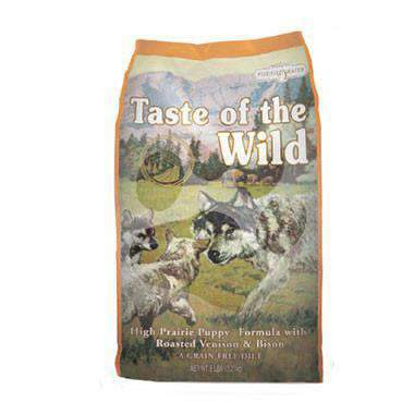 "taste of the wild לכלב גור בישון וצבי 13 ק""ג"
