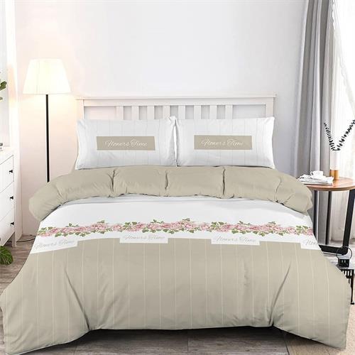 סט מלא מיטה יהודית 100% כותנה דגם סילבר