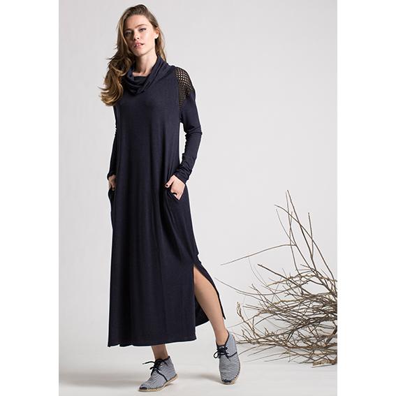 שמלת היביסקוס כחולה