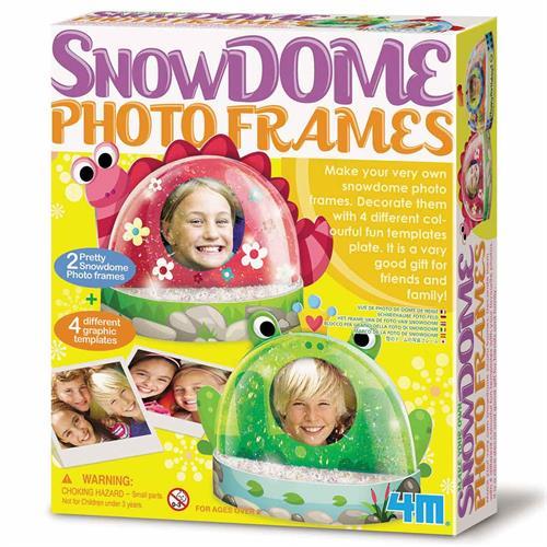 כיפת שלג עם תמונה