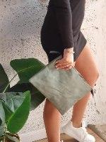 תיק צד מיכאלה ירוק