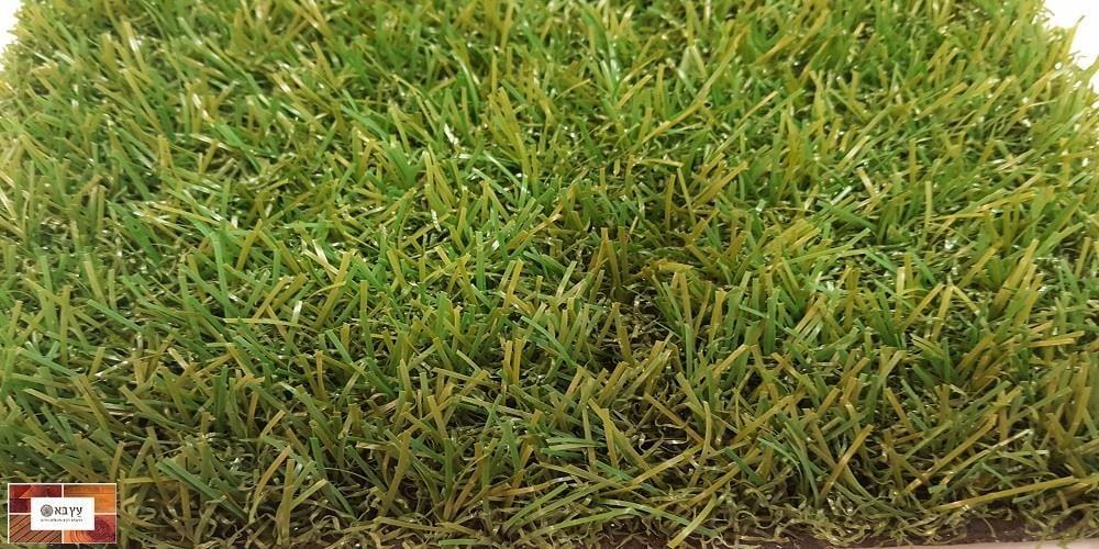 דשא סינטטי נמוך בעל מראה טבעי דגם גליל