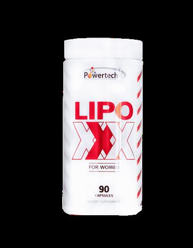שורף שומן LIPO XXX לנשים 90 טבליות כשר מבית פאוורטאק
