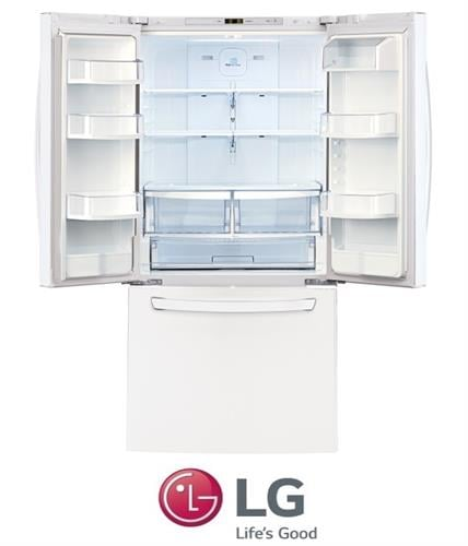 LG מקרר 3 דלתות לבן דגם GR-B240RWA