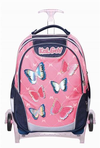 תיק פרפרים קורל Schoolbag T Spring