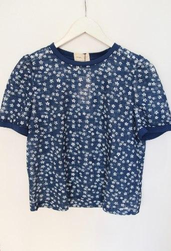 חולצת בלוסום כחולה