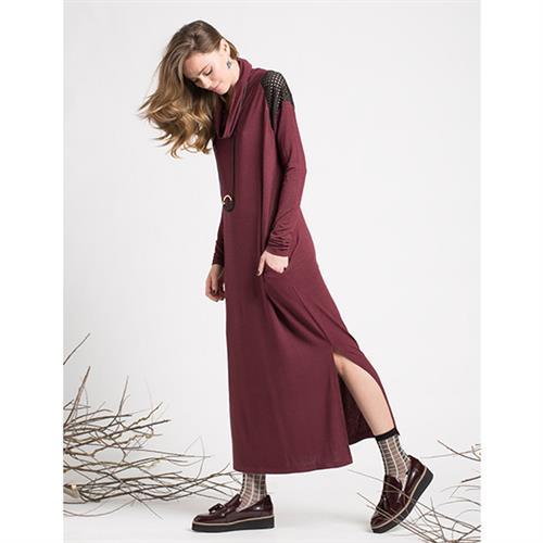 שמלת היביסקוס יין