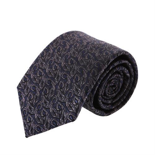 עניבה קלאסית כחול כהה משולב